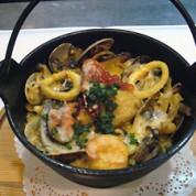 魚介類の炊き込みライス サフラン風味   ¥1,800