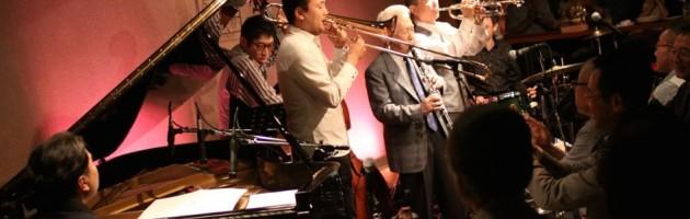ノリにノッた小曽根さんのデキシー・ジャズ・ワールドの第1夜