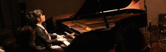 ご本人もお客さまも楽しまれた初のソロピアノステージ