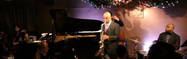 ハードなインスト・ジャズで盛り上がったXmasの夜