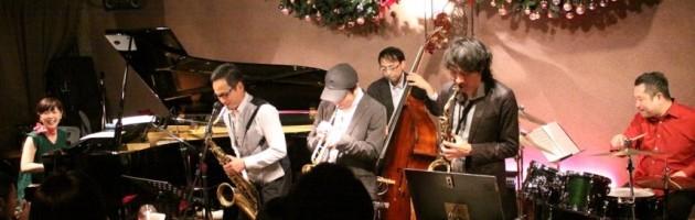 三管のコンビネーションもいい活気あるジャズ